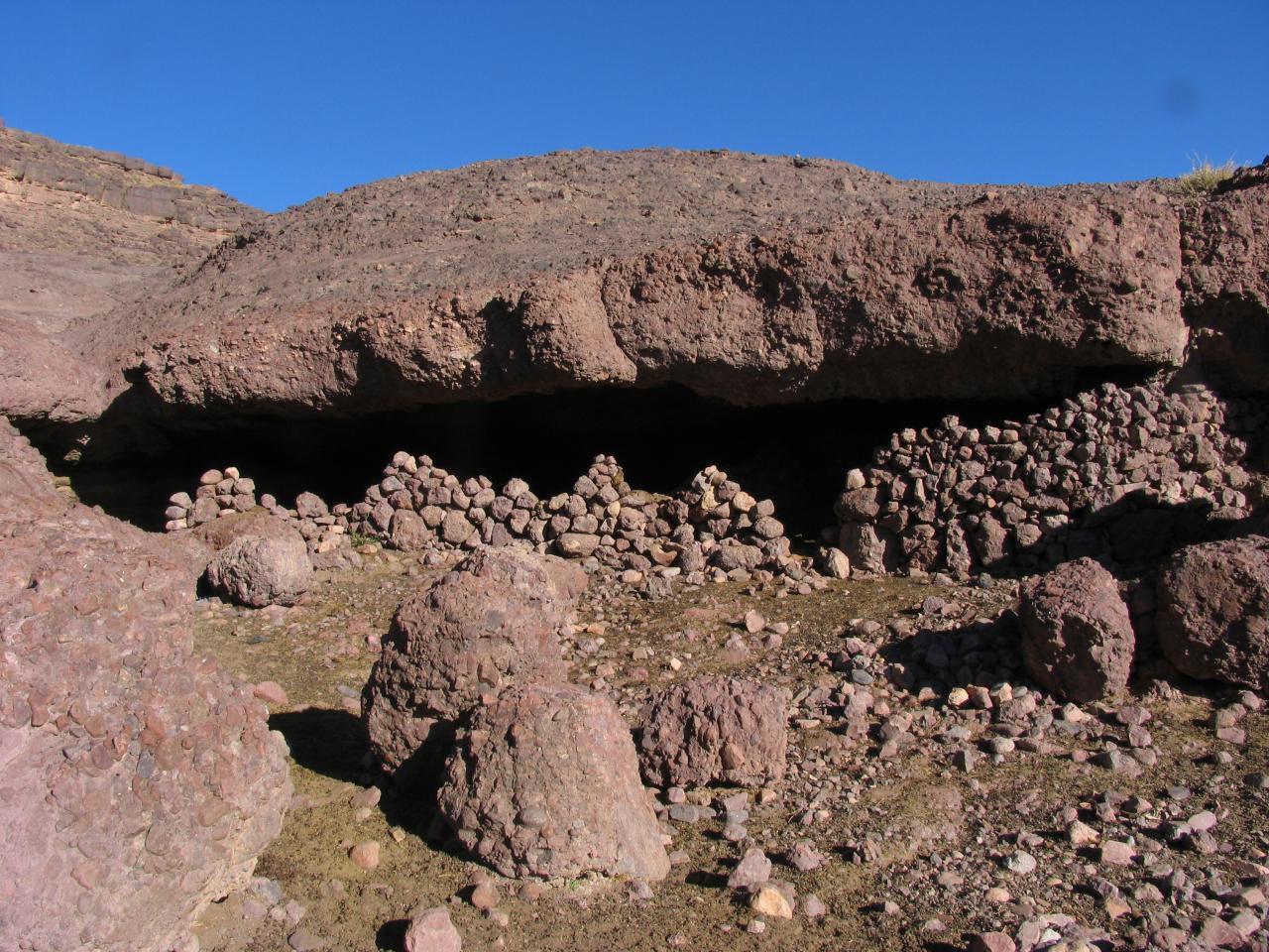 massif Sarhro (abri bergers)