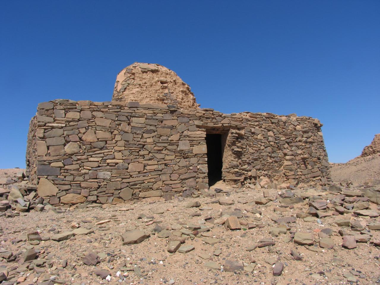 Les ruines de l'antique cité de Tamdoulet
