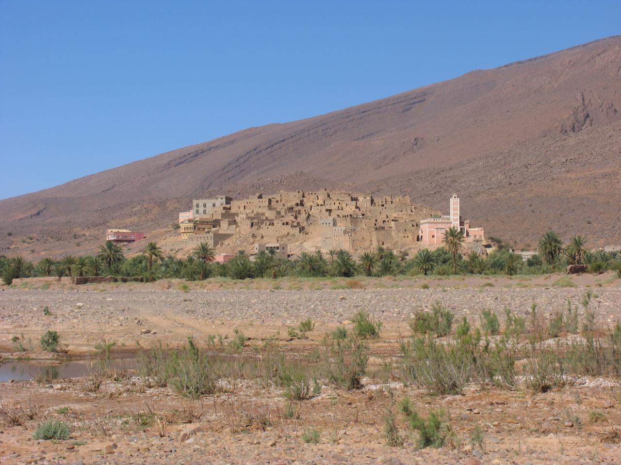 Tamzarout village